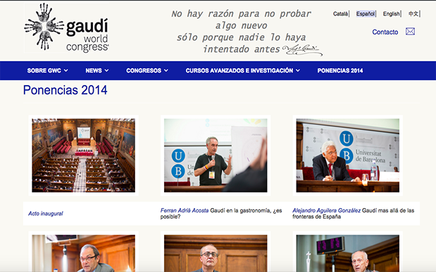 WEB GAUDICONGRESS